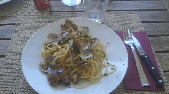 Bagno Vacanze: Spaghetti alla vongole