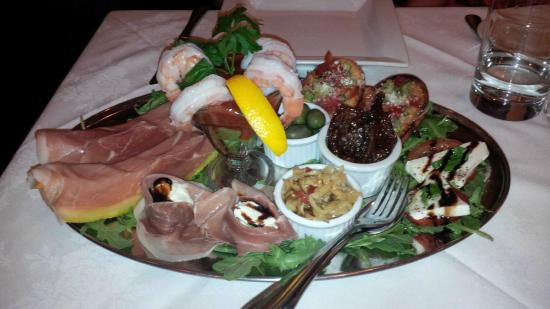 Brunello at 27 on Fourth: Antipasto platter