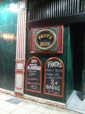 Paco's Pinte Irish Pub