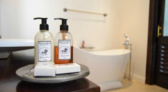 Belvedere Boutique Hotel: Bathroom Amenities