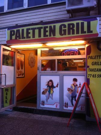 Paletten Grill