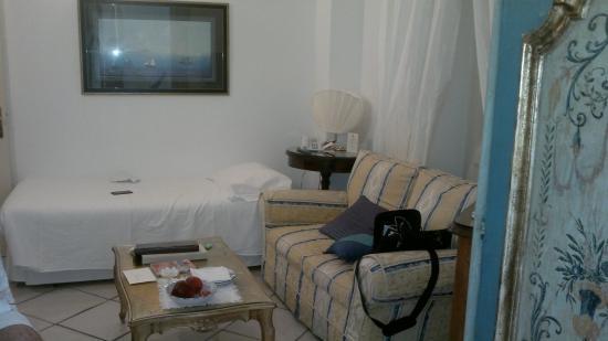 Santa Caterina Hotel: Ванная крмната
