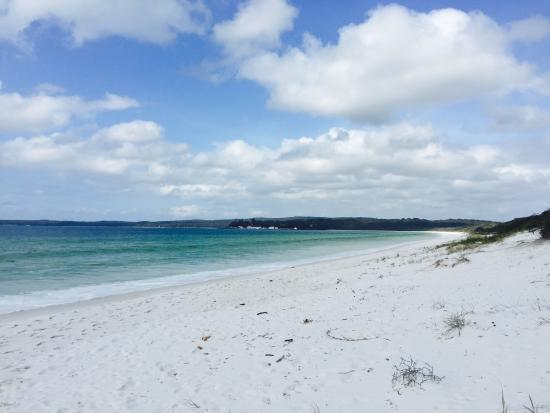 Huskisson Bed and Breakfast: Hyams beach 15 minutes away by car