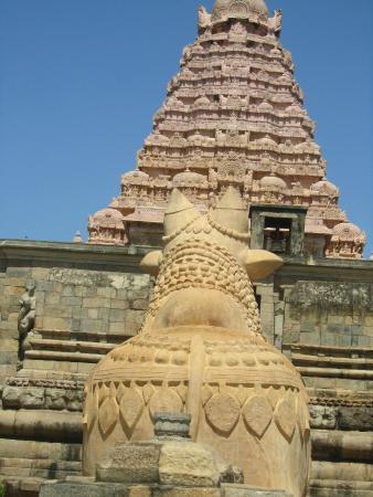 Big Nandi of Gangaikonda Cholapuram Temple