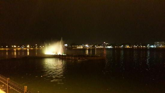 Kishore Sagar: Beautiful Place To Visit During Evening. Magnificent View Of  Lights In Water