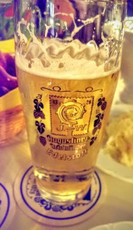 Zum Augustiner: เบียร์