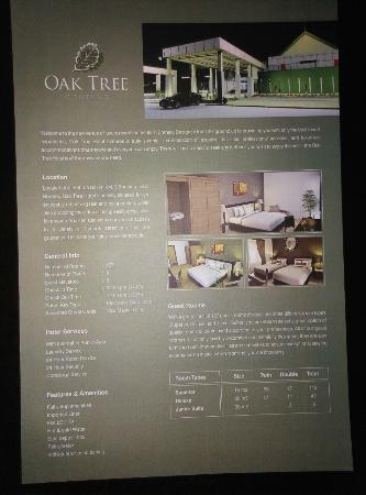 Brosur Hotel Picture Of Oak Tree Bontang Bontang Tripadvisor