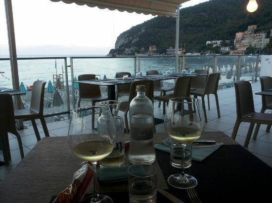 terrazza - picture of ristorante vittoria noli, noli - tripadvisor
