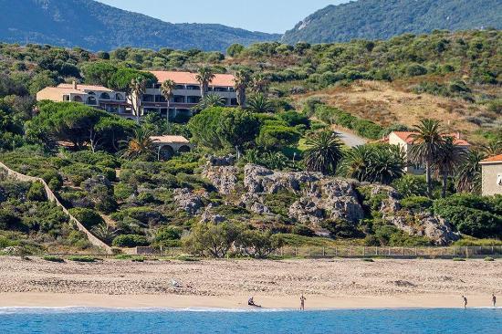 Hameau Figarella : Vue de la mer