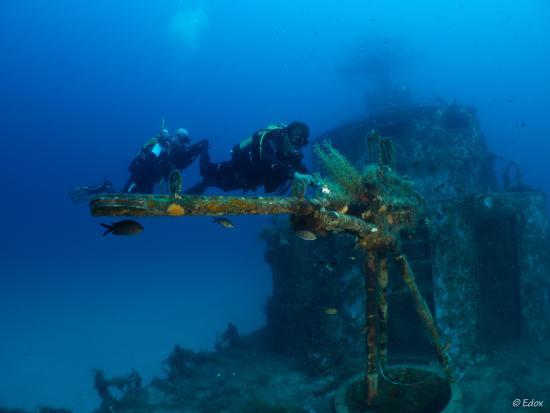 H2O Divers: Mitragliatrice