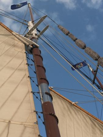 Schooner Appledore IV BaySail : A wonderful experience aboard our first tall ship.