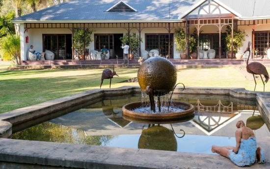 Hlangana Lodge: park area