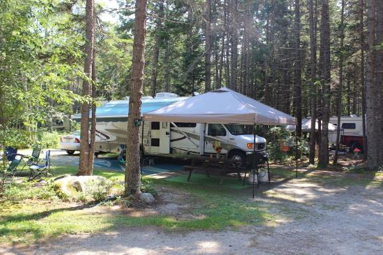 Sherwood Forest Camping >> Sherwood Forest Campsite And Cabins New Harbor Me Kamp Alani