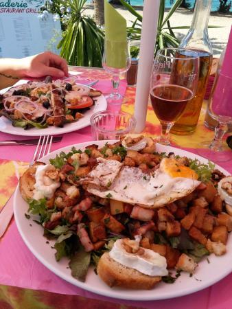 La Saladerie: salade