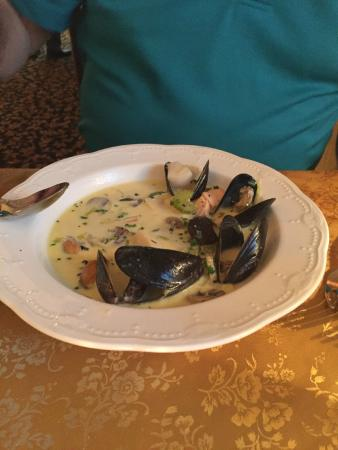 Chef Michael At The Inn: Summer Time Nova Scotia Seafood Soup