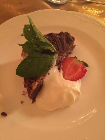 Chef Michael At The Inn: Chocolate tart with caramel