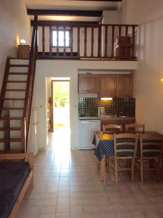 Hameau Figarella : Appartement en mezzanine
