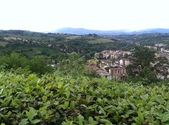 Ristorante Montebuoni: View from dining room