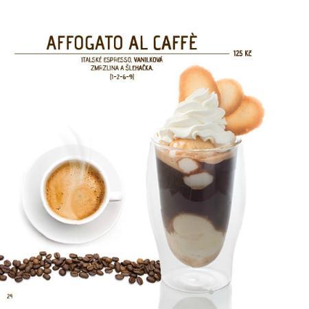 Piccolo Affogato Al Caffe Recipe — Dishmaps