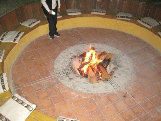 Refugio Vinak: Gezellig kampvuur