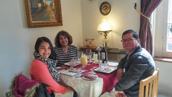Casa Luisa Bistro & Wines: Comenzando la fiesta de almorzar!