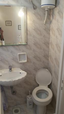 Galini Hotel: bagno