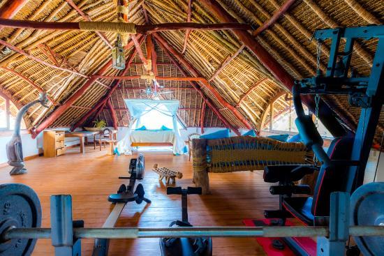 Waterlovers Beach Resort : Ocean Penthouse private gym top floor