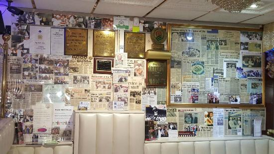 Bolton, UK: Wall of Awards and Review
