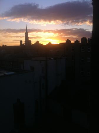 The Dublin Central Hostel: view