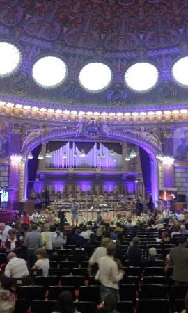 Atenul Roman: Before the concert