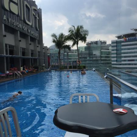 Picture of aloft kuala lumpur sentral kuala - Rooftop swimming pool kuala lumpur ...