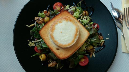 Restaurant Rita Porta : Salade de fromage de chèvre