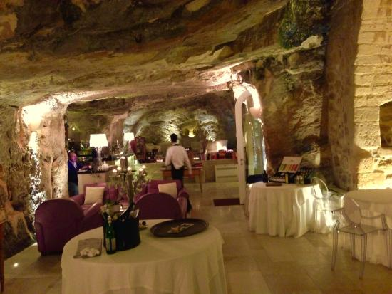 Cave restaurant lovely atmosphere and decor picture of