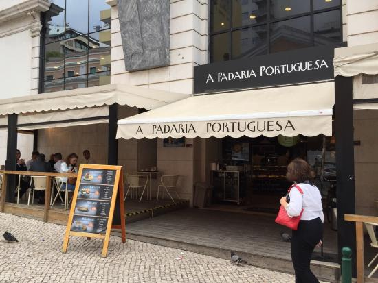 Photo of Cafe A Padaria Portuguesa at Rua Mouzinho Da Silveira 2, Lisbon 1250-167, Portugal