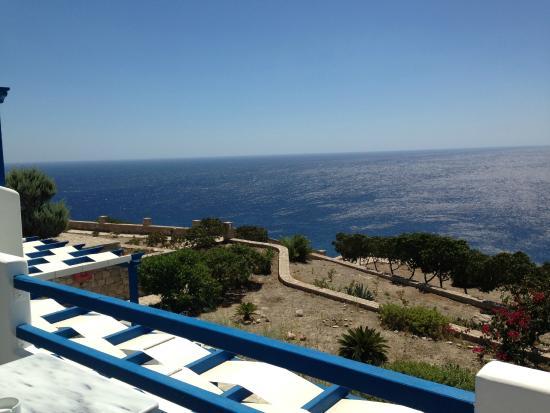 Psaravolada Resort: Desde la terraza