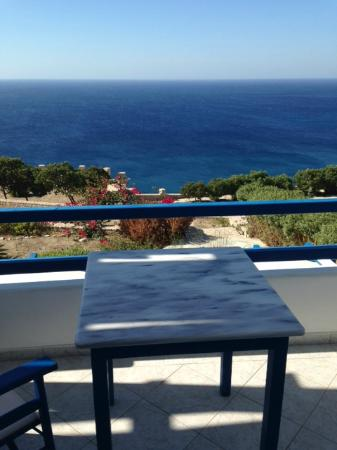 Psaravolada Resort: la terraza