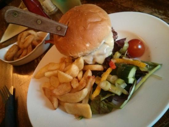Odstock, UK: Killer Burger....