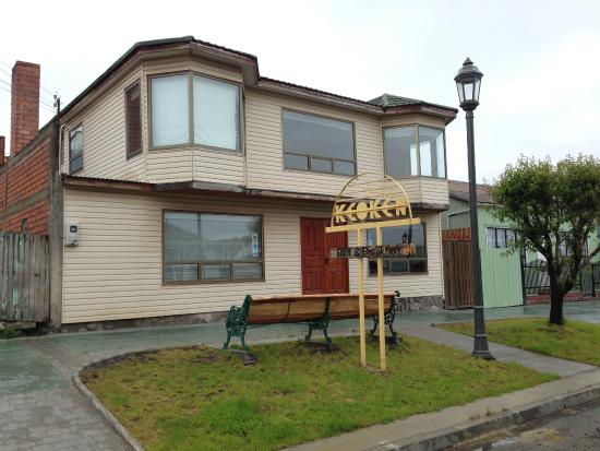 Keoken Patagonia Bed & Breakfast: Fachada