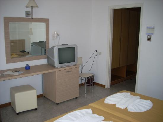 Hotel Saint Nicholas: La camera