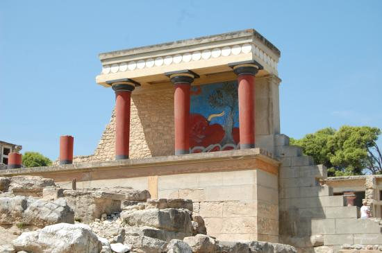 Pałac w Knossos - Picture of The Palace of Knossos ...