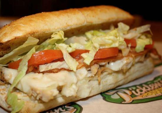 Pickleman's Gourmet Cafe: Turkey sandwich