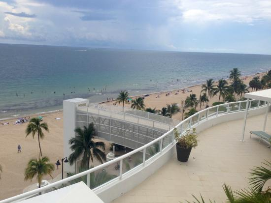 The Ritz Carlton Fort Lauderdale View Of Beach From Pool