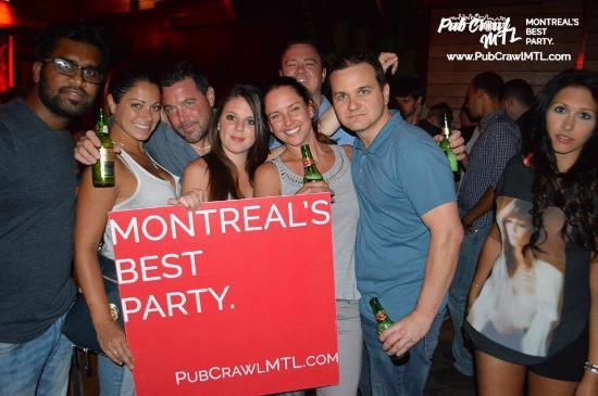 Pub Crawl MTL