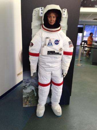 Complejo de Comunicaciones con el Espacio Profundo NASA: Astronauta