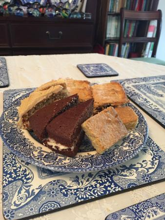 Rusland Bed and Breakfast: Home made cakes