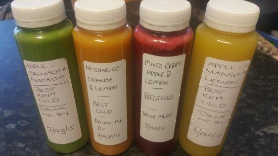 Bite Me: our fresh juices