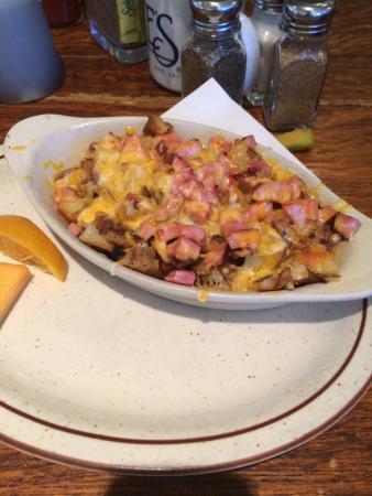 Hobee's Restaurant: Hi hat hashbrowns