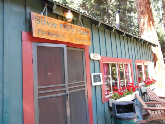 Superieur Silver City Store Restaurant U0026 Cabins: Store Front Of The Silver City  Resort Near Sequoia