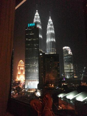 Impiana KLCC Hotel: View from our room