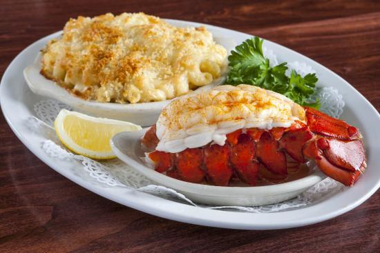 Sam's Steakhouse : Baked Maine Lobster Tails